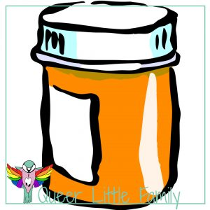 An illustration of a medicine pot.