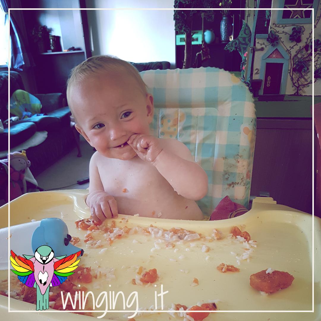 Adventures In Mush: Baby Enforced Weaning.