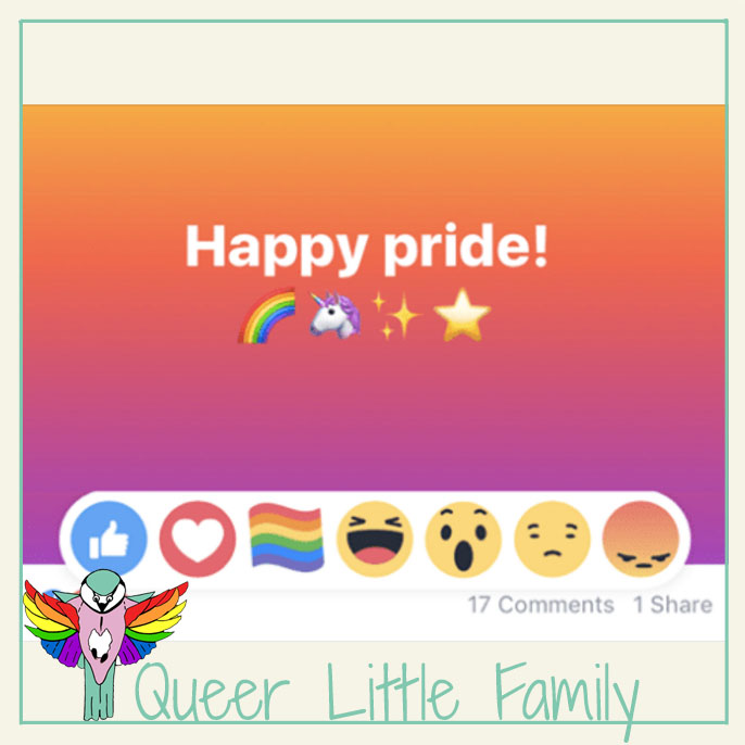 Why I Won't Be Using Facebook's Pride Reaction
