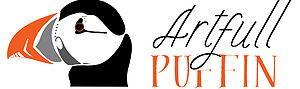 artfull puffin logo