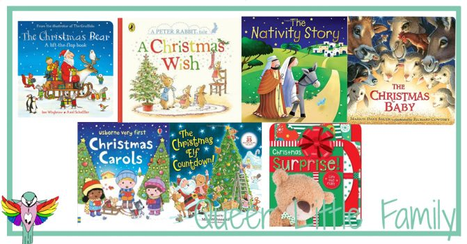 Seven Super Christmas Board Books