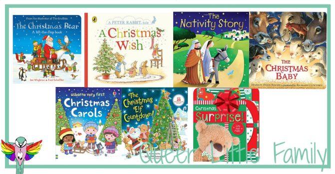 Seven Super Christmas Board Books