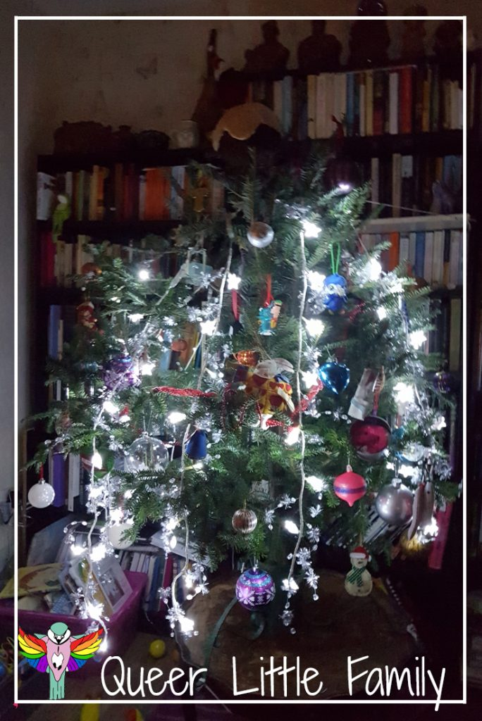 A Quiet Christmas  - our tree
