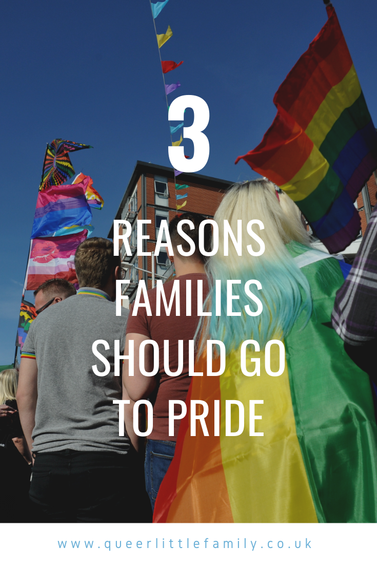 Three Reasons Families Should Go To Pride