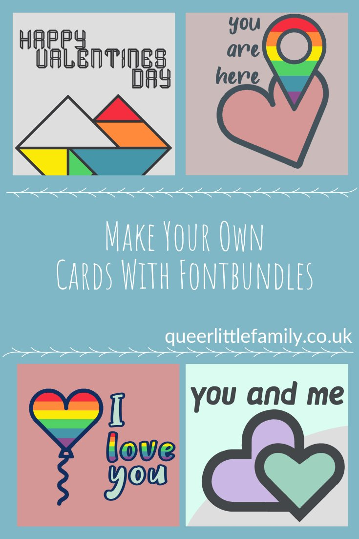 AD: Make Your Own Cards With Fontbundles